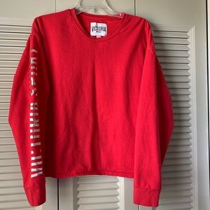 VSX Fleece Pullover with Iridescent Sleeve